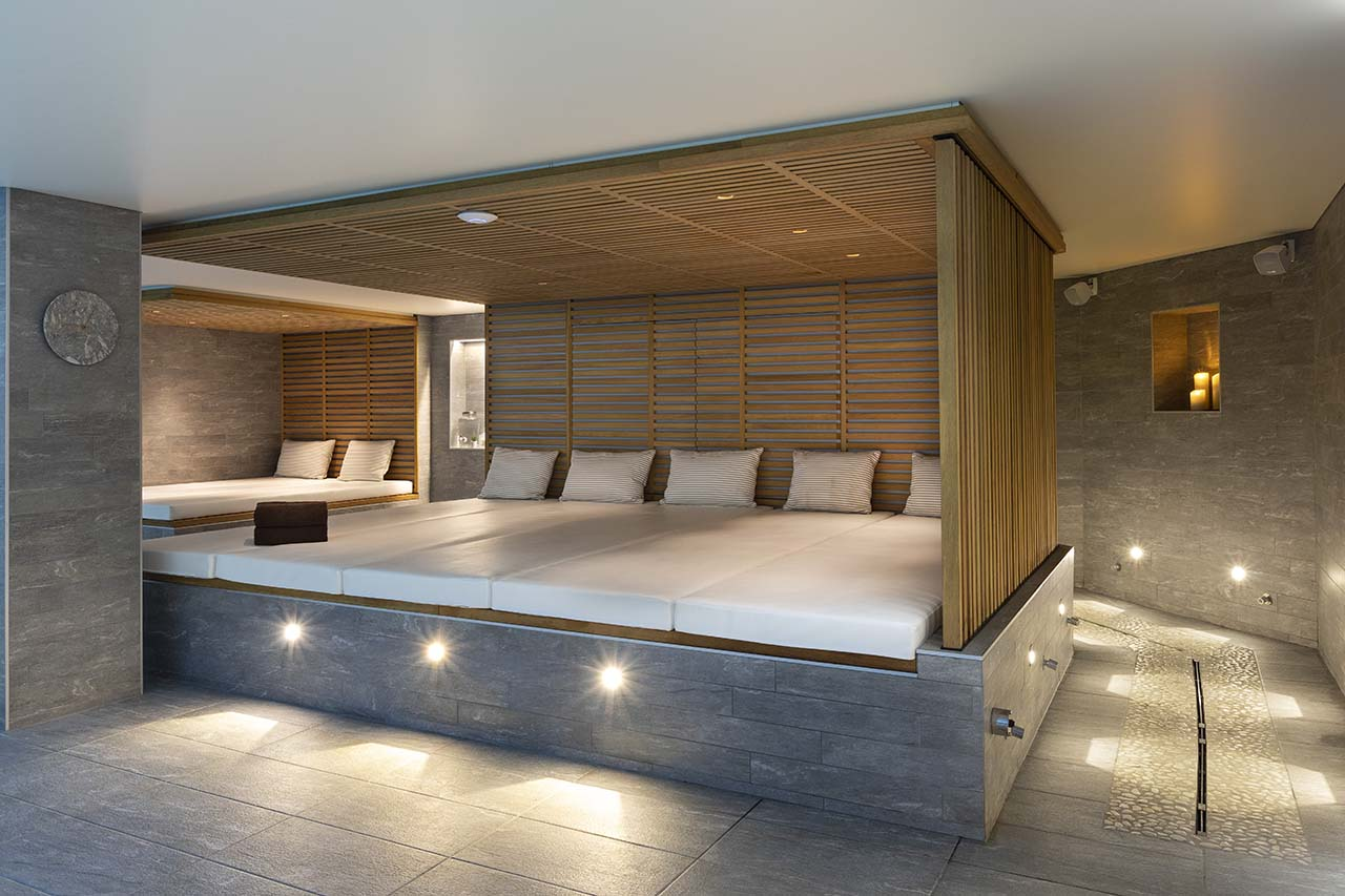 St-Alban Hotel & Spa - Banquettes piscine