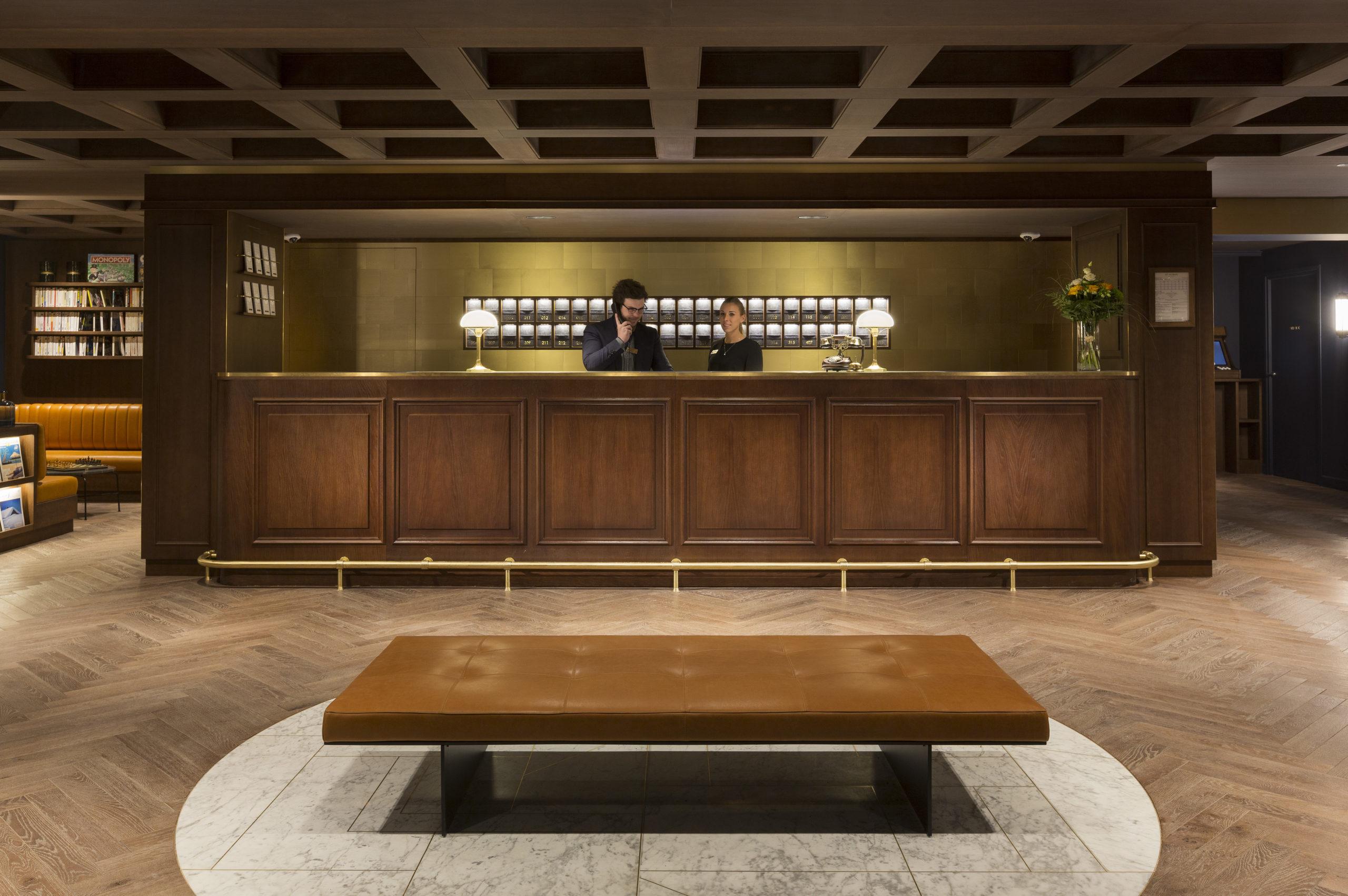 Hôtel ST-ALBAN - La Clusaz - réception